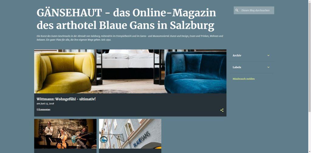 Die Blaue Gans zeigt wie es geht - http://www.gaensehaut.eu/