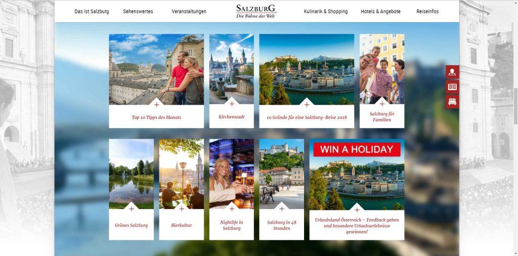 Die Seite von Tourismus Salzburg - https://www.salzburg.info/de