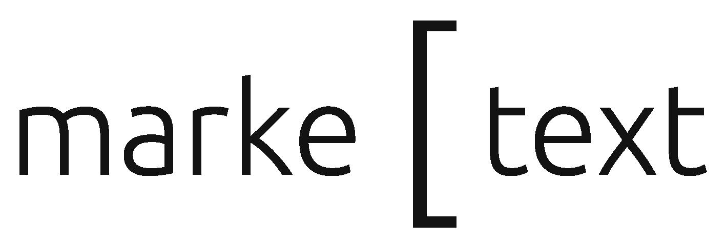 Marke Text Logo