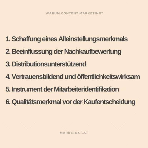 warum content marketing